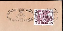 Switzerland Grenchen 1981 / Prevention Cures Rejuvenate, Swiss Medicinal Baths / Spa / Health Resort / Machine Stamp - Hydrotherapy