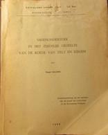 Sagenonderzoek ... Tielt En Izegem  - Tovenarij - Geesten - Heksen - Magie - Duivels ... - 1968 - Storia