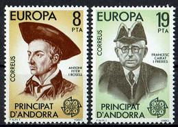 Mi. 131/132 ** - Andorra Española