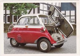 """Automobile : Voitures De Tourisme : """" BMW ISETTA """" - Année 1956  -  C.p.m. - - Turismo"""