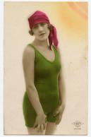 """Femmes.  Baigneuse. Période """" Entre Deux Guerres """" Circulé En 1926. - Femmes"""