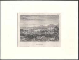 Der Königsee. Acélmetszet, Papír, Paszpartuban, 11x16 Cm - Incisioni