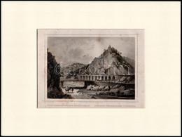 Cca 1840 Ludwig Rohbock (1820-1883): Római Rommaradványok Mehádiában, Pest, Lauffer és Stolp, (Darmstadt, G. G. Lange-ny - Incisioni