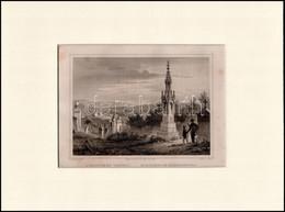 Cca 1840 Ludwig Rohbock (1820-1883)-G.M. Kurz: A Kolozsvári Temető, Pest, Lauffer és Stolp, (Darmstadt, G. G. Lange-ny.) - Incisioni
