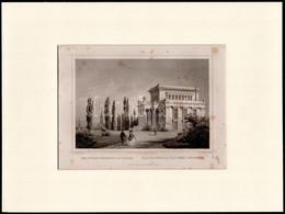 Cca 1840 Ludwig Rohbock (1820-1883)-L.Thümling: Kolozsvár Nemzeti Múzeum, Pest, Lauffer és Stolp, (Darmstadt, G. G. Lang - Incisioni