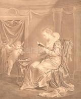 Francois Hubert Metszése, Claude Lefebvre (1632-1675) Után: La Nouvelle Héloise Dédiée A Mme De Damery (...-nek Dedikált - Incisioni