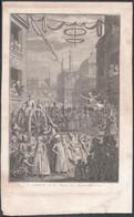 Jacob Folkema (192-1767) Metszése, Bernard Picart (1673-1733) Rajza Után: Bairam Vagy A Húsvét Mohammedánok Számára, 173 - Incisioni