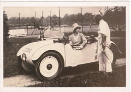 """Automobile : Voitures De Tourisme : """" HANOMAG KOMMIBBROT """" -  Année 1927  -  C.p.m. - - Turismo"""