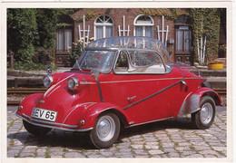 """Automobile : Voitures De Tourisme : """" MESSERSCHMITT TIGER """" -  Année 1955  -  C.p.m. - - Turismo"""
