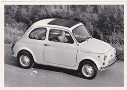 """Automobile : Voitures De Tourisme : """" FIAT 500 A """" -  Année 1957  -  C.p.m. - - Turismo"""