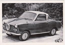 """Automobile : Voitures De Tourisme : """" GLAS GOGGOMOBIL COUPE """" -  Année 1957  -  C.p.m. - - Turismo"""