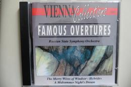 CD Famous Overtures - Compilation Ouvertures Célèbres Dvorak Mendelssohn Tchaikovsky Nicolai Etc - Klassik