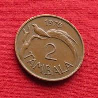 Malawi 2 Tambala 1975 KM# 8.2 - Malawi