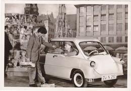 """Automobile : Voitures De Tourisme : """" ZÜNDAPP JANUS """" -  Année 1957  -  C.p.m. - - Turismo"""