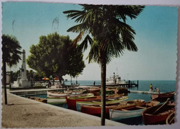 Bardolino - Il Porto - Lago Di Garda - Formato Grande Viaggiata – E 17 - Italia