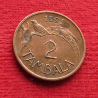 Malawi 2 Tambala 1991 KM# 8.2a  *V1 - Malawi