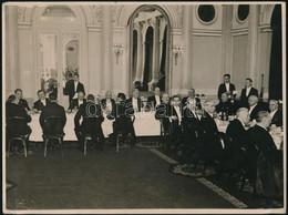 1941 Corvin Vacsora A Hungária Szállóban. Gál Gyula, Orsós Ferenc, Balázs András, Heller Farkas, Szekfű Gyula, Rudnay Gy - Autres Collections