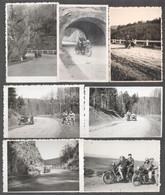 Cca 1935-1940 Motorkerékpárok, 7 Db Fotó, 8×6 Cm - Autres Collections
