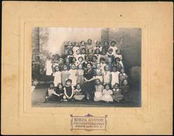 Cca 1920 3 Db Csoportkép Pesterzsébeti Iskolásokról - Autres Collections
