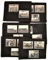 1941 Az 1941-es Mezőgazdasági Kiállítás Fotói, 1941. IV. 6., 19 Db Fotó 7 Db Kartonon, 8,5x11,5 Cm - Autres Collections