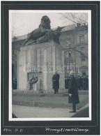 1941 Przemysyl Emlékünnep Fotója Albumlapon, 1940. III.31., 11x8 Cm - Autres Collections