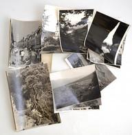 Cca 1960-1970 Vegyes Nagyméretű Fotó Tétel, 15 Db, 14x23 Cm és 28x21 Cm Közötti Méretben - Autres Collections