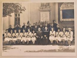 1939 Sopron, M. Kir. Rákóczi Honvéd Középiskolai Nevelőintézet Csoportképe, Asbóth Gyula Katonalelkész által Végzett Kon - Autres Collections