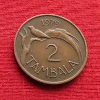 Malawi 2 Tambala 1979 KM# 8.2   *V1 - Malawi