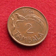 Malawi 2 Tambala 1994 KM# 8.2a Bird - Malawi