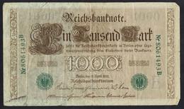 Billet De 1000 Marks - Allemagne 1910 - 1000 Mark