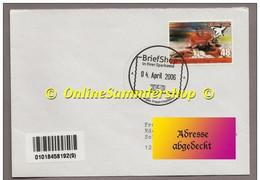 BRD - Privatpost - PIN AG  -  Umschlag -  Marke : Köllner Haie Vom 04 April 2006 - Hockey (Ijs)