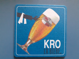 Kronenbourg - A KRO LA BIERE - Beer Mats