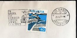 Switzerland Basel 1977 / HERBSTMESSE / Exposition, Autumn Fair, Messe / Machine Stamp - Autres Expositions Internationales