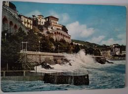 Celle Ligure - Mareggiata - Formato Grande Viaggiata Mancante Di Affrancatura – E 17 - Savona