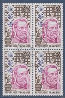 Bloc De 4 Oblitérés Louis Pasteur N°1768 - Usados