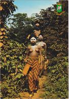 Environs De Man - Départ Pour La Fête Et Les Danses - & Nude - Costa De Marfil