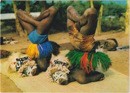Man - Danseuses Acrobatiques - Costa De Marfil