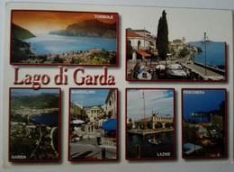 Lago Di Garda - 9 - Formato Grande Viaggiata – E 17 - Italia