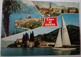 Lago Di Garda - Formato Grande Viaggiata Mancante Di Affrancatura – E 17 - Italia