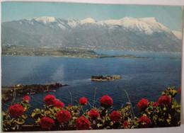Manerba - Isola Di S.biagio Vista Dalla Rocca - Lago Di Garda - Formato Grande Viaggiata – E 17 - Italia