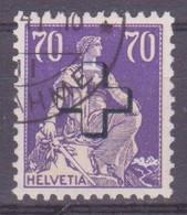 Schweiz Verwaltungsmarke: SBK-Nr. 39 (Helvetia Mit Schwert, 1938) Gestempelt - Servizio