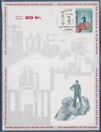 Votre Sécurité Est Entre Vos Mains, Lutte Contre Les Accidents Du Travail Marcinelle 3.2.68 Carte - Maximum Cards