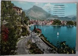 Riva - Panorama - Lago Di Garda - Formato Grande Viaggiata – E 17 - Italia