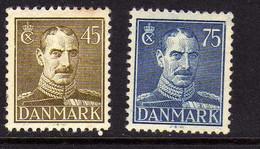 Danemark (1943-46- ) - Christian X -  Neufs** - Nuovi