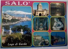 Salò - Lago Di Garda - Formato Grande Viaggiata  – E 17 - Italia