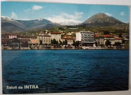 Saluti Da Intra - Lago Maggiore -formato Grande Viaggiata – E 17 - Italia