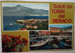 Saluti Da Torri Del Benaco - Formato Grande Viaggiata – E 17 - Italia
