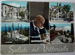 Saluti Dal Vittoriale - Gardone Del Garda - Formato Grande Non Viaggiata – E 17 - Italia