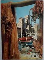 Sirmione - Il Castello - Lago Di Garda - 302-085 - Formato Grande Viaggiata – E 17 - Italia