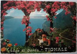 Tignale - Lago Di Garda - Veduta Di Monte Castello - Formato Grande Viaggiata – E 17 - Italia